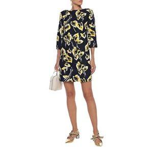 Marni mini dress retro mod printed 38 2 4 xs s